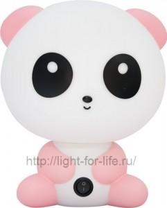 DE1602, светильник для детской, розовая панда