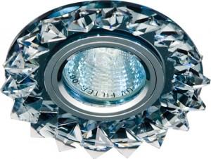 CD2515, светильник потолочный, MR16 50W G5.3 с прозрачным стеклом, серый