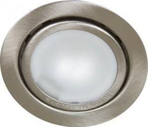 А012, светильник мебельный, JC G4.0 титан, с лампой