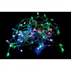 CL02, гирлянда линейная, цвет свечения - мультиколор