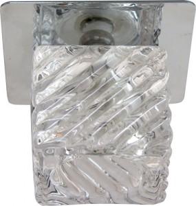 BS 125-FA, светильник потолочный, JCD 35W G9 хром (c лампой)