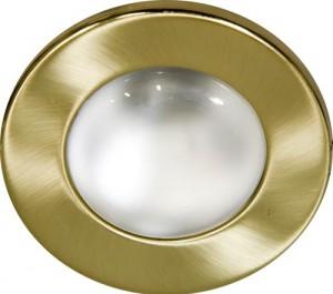 Светильник потолочный, R50 E14 матовое золото, 1713