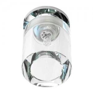 JD151, светильник потолочный, JCD9 50W G9, прозрачный, хром