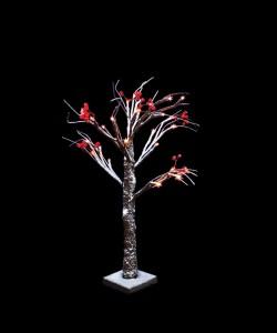 """LT042 Светодиодное декоративное дерево """"Зимняя рябина"""""""