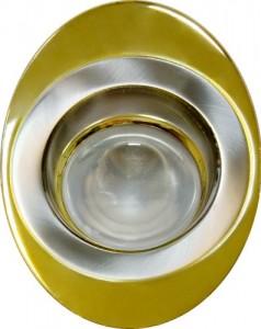 108-R39, светильник потолочный, R39 E14 золото-хром