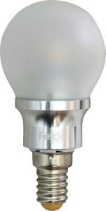 LB-40, лампа светодиодная, 6LED(3,5W) 230V E14 6400K маленький шар матовый G45
