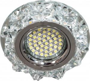 CD2917, светильник светодиодный встраиваемый,  SMD 2835  MR16 12V 50W G5.3 прозрачный, прозрачный