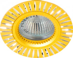 GS-M394G, светильник потолочный, MR16 G5.3 золото