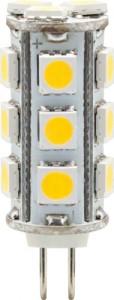 LB-403, лампа светодиодная, 18LED(3W) 12V G4 2700K