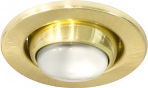 Светильник потолочный, R39 Е14 матовое золото, 2712