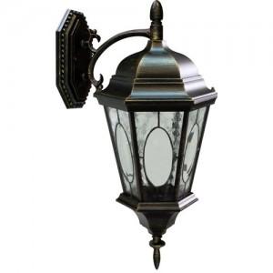 PL151, светильник садово-парковый, 60W 230V E27 черное золото