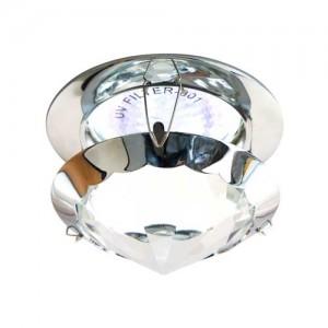 CD29, светильник потолочный, MR16 50W G5.3 прозрачный, хром (с лампой)