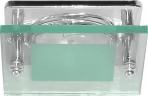 3781, светильник потолочный, R50 E14 со стеклом, хром