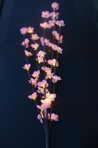 """LD207B Светодиодная декоративная ветка """"цветы розовой сакуры"""""""