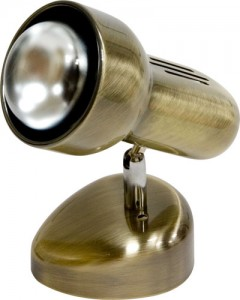 Светильник настенный, 1xR63 Е27 античное золото, RAD63S