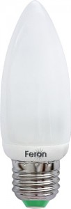 ELC73, лампа энергосберегающая, 11W 230V E27 6400K свеча
