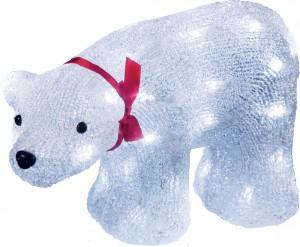 """LT038 Светодиодная акриловая фигура """"Медведь"""""""