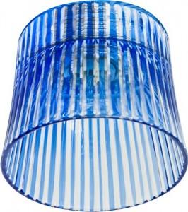 CD2319, светильник потолочный, JCD9 35W G9  с синим стеклом, с лампой