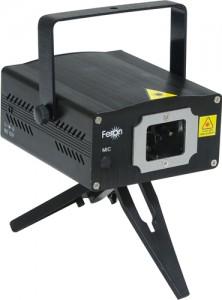 F05, проектор для лазерного шоу на треноге, зеленый 12V(с адаптером)