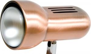 Светильник настенный, 1xR63 Е27 с выключателем, античная медь, RAD63S-S
