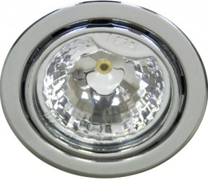 DL3, светильник мебельный, JC G4.0 хром, с лампой