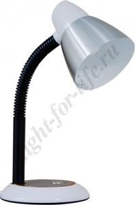 DE1400, настольный светильник, ESB 9W 230V E27 белый с лампой