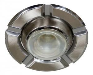 098-R50, светильник потолочный,  титан-хром