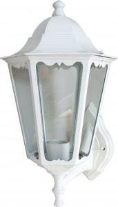 6201, светильник садово-парковый, 100W 230V Е27 белый