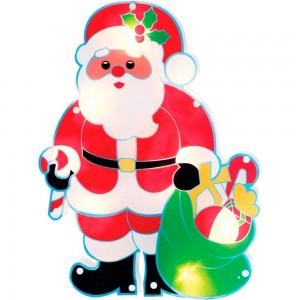 """LT056 Светодиодная новогодняя фигура """"Дед мороз с подарками"""""""