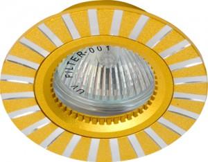 GS-M364G, светильник потолочный, MR16 G5.3 золото