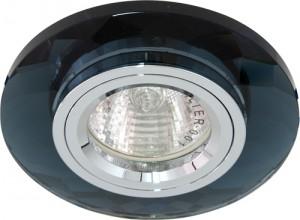 8050-2, светильник потолочный, MR16 G5.3 серый + серебро