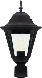 4203, светильник садово-парковый, 100W 230V E27 черный