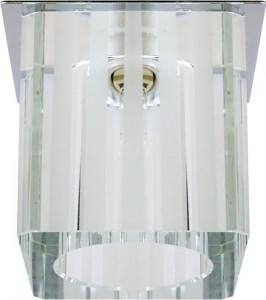 DL169, светильник потолочный, JCD9 35W G9 прозрачный, хром (с лампой)