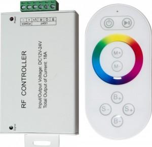LD56, контроллер для светодиодной ленты с пультом управления, 18А12-24V, белый