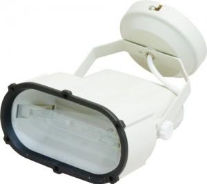 AL112, прожектор металлогалогенный с лампой и пускателем, 70W 230V R7S  белый