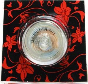 CD2036/ CD6036, светильник потолочный,  черный фон - красный рисунок, с лампой