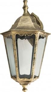 6202, светильник садово-парковый,  100W 230V Е27 черное золото