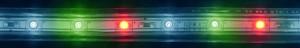 LS707/LED-RL, светодиодная лента, 60SMD(5050) 14,4W/m 220V IP68, длина 50m, 14mm*8mm, мультиколор