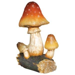 E48, светильник садово-парковый на солнечной батарее, грибы