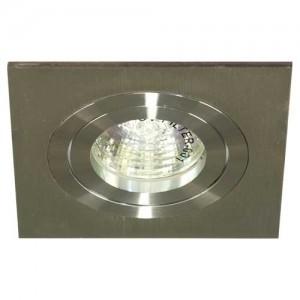 DL271, светильник потолочный,  MR16 G5.3 алюминий, хром