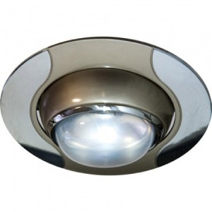 020-R50, светильник потолочный,  титан-хром
