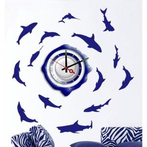 NL20, декоративные часы-наклейка