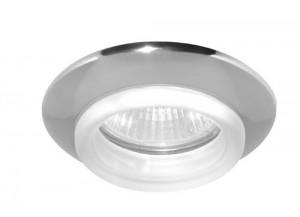 730С-W, светильник потолочный, MR16 G5.3 хром белый