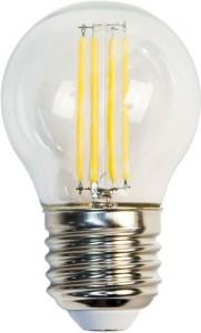 LB-61, 4000К Е27 4LED(5W) 230V филамент G45, лампа светодиодная