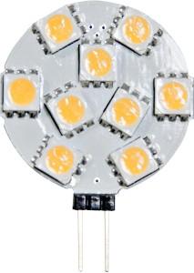 LB-16, лампа светодиодная, 9LED(2W) 12V G4 7000K