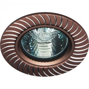 GS-M392BR, светильник потолочный,  MR16 50W G5.3 коричневый
