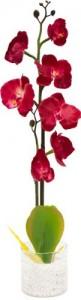 """PL307 Интерьерный декоративный светильник """"Орхидея"""",красные цветы"""