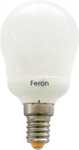 ELC82, лампа энергосберегающая, 11W 230V E14 6400K шарик