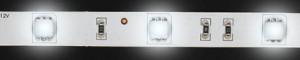 LS606, комплект светодиодной ленты с драйвером 60W, 60SMD(5050)/m 14.4W/m 12V белый на белом 3 метра