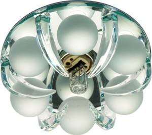 CD2530, светильник потолочный, JCD9 G9 c прозрачным и матовым стеклом, прозрачный, с лампой